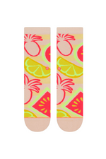 Stance - Magical Fruit - Pink - Back