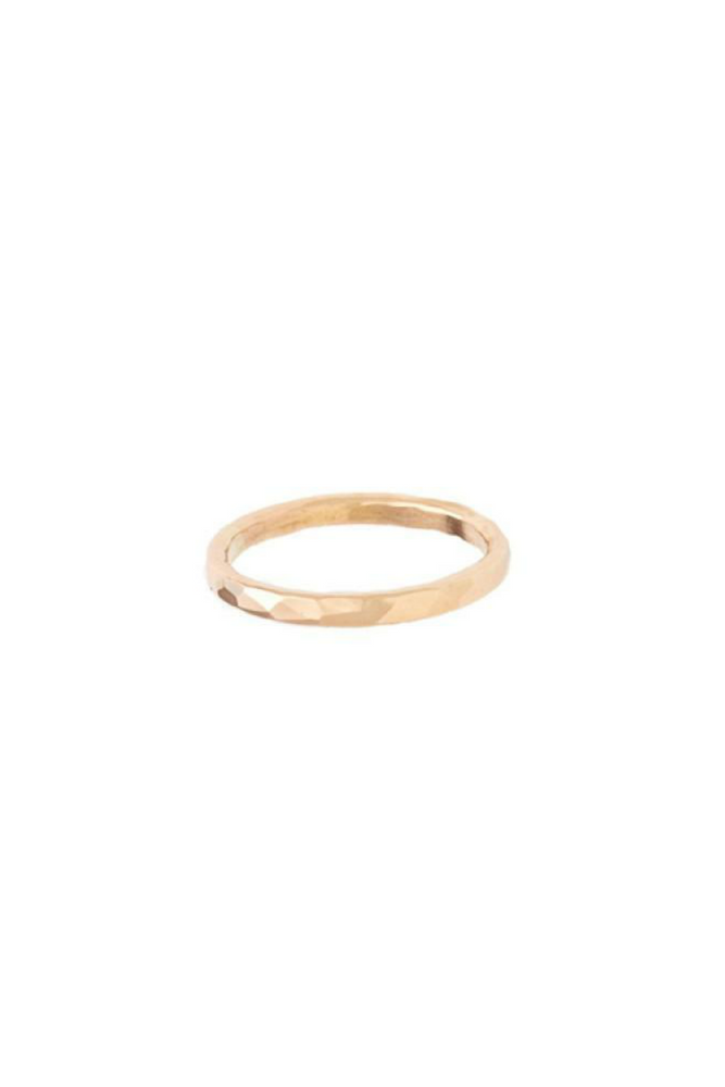 Nashelle - Coffee Ring - 14K Gold Fill