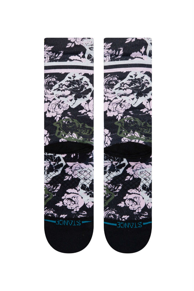 Stance - La Vie En Rose Crew - Black - Back