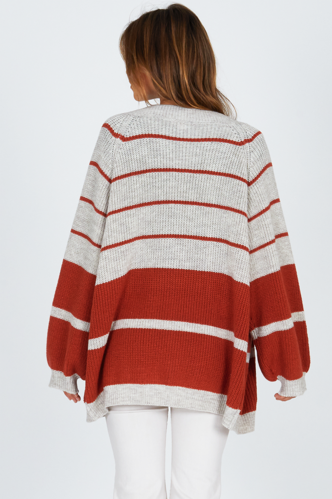 Amuse Society - Get Down Sweater - Picante - Back
