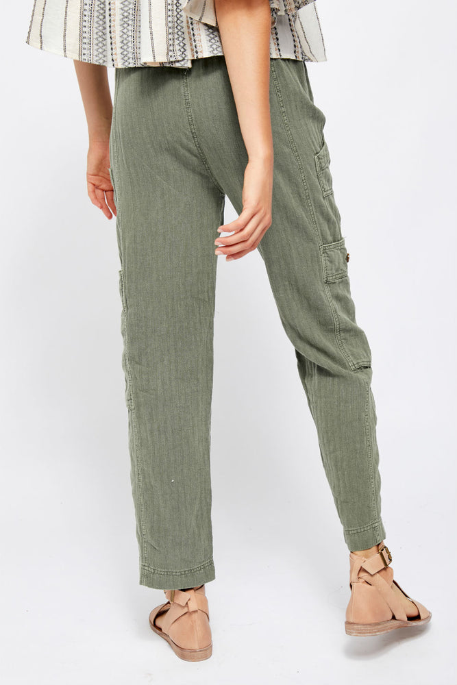 FEELIN GOOD UTILITY PULL-ON PANTS