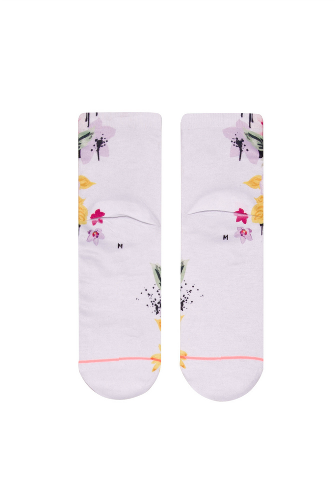 Stance - Just Dandy Lowrider - White - Back