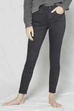 Outerknown - Strand High Rise Skinny - Jet Black - Back