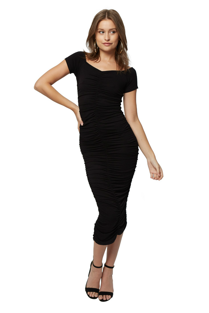 Clayton - Jaylinn Dress - Black - Front
