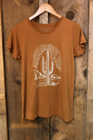 CACTUS WOMENS COLOR TEE