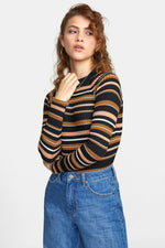 RVCA - Axl Sweater - Canyon Rose - Front