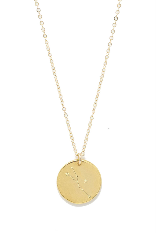 Able - Taurus Constellation Necklace - Gold