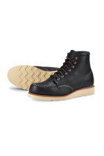 Red Wing Heritage - 6 Inch Moc Toe - Black