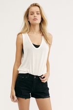 Free People - Take the Plunge Tank - White - Front