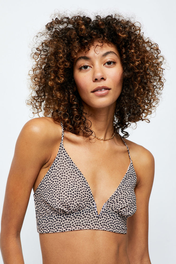 Free People - Cassie Soft Bra - Nude - Front