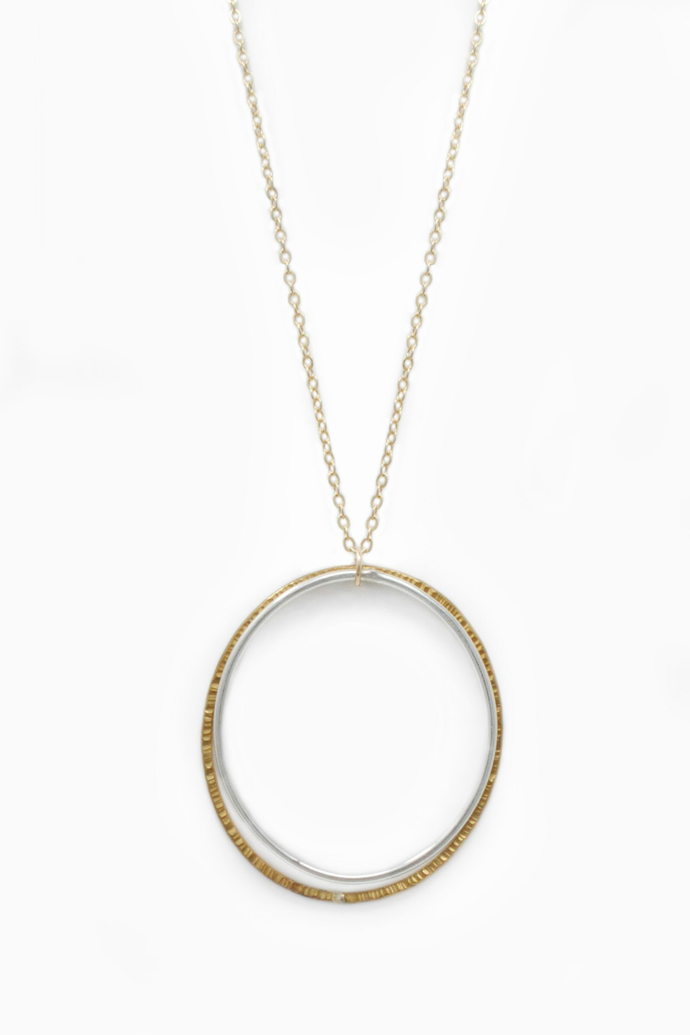 Able - Duo Necklace - Two Tone