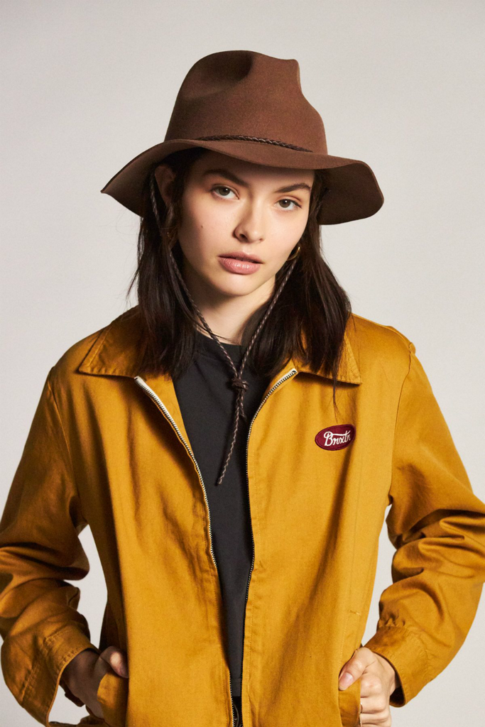Brixton - Freeport Fedora - Bison - Model
