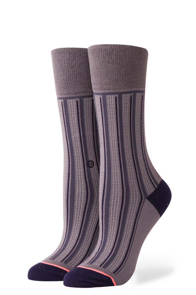 Stance - Stripe Down - Charcoal