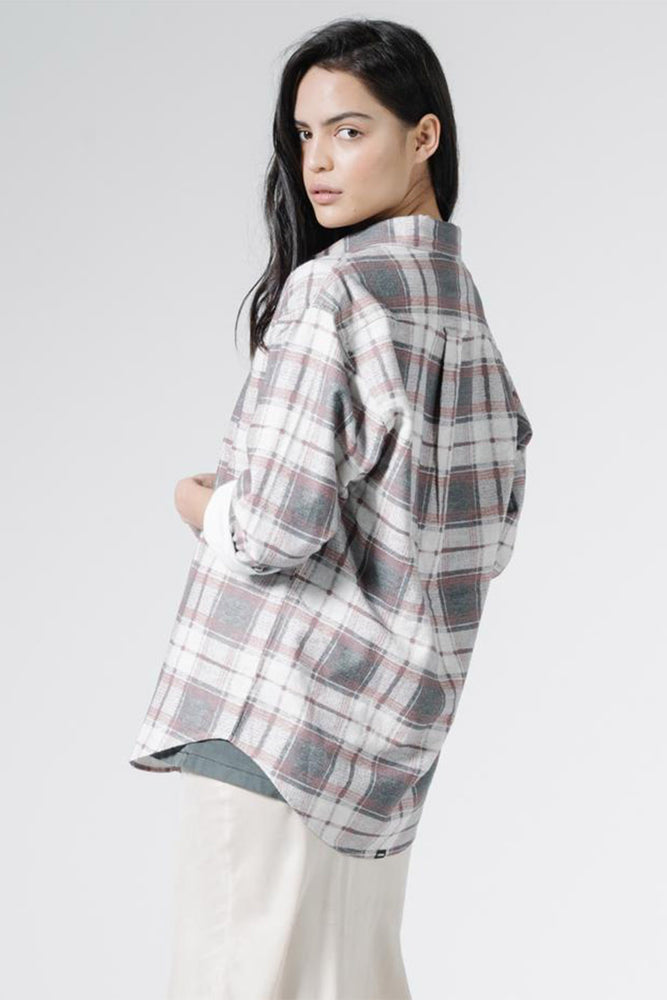 FIRE ROSE FLANNEL SHIRT