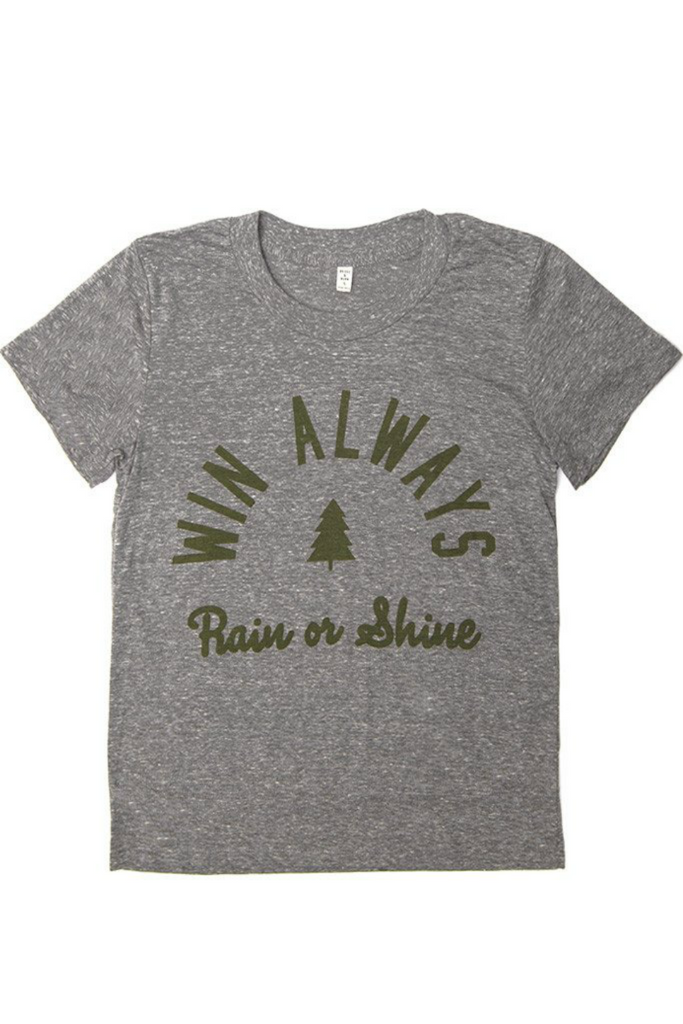 Bridge and Burn - Win Always Tee - Grey