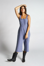 Brixton - Beatrice Jumpsuit - Washed Navy - Front
