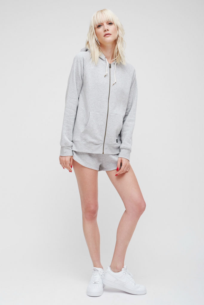 Obey - Comfy Zip Hood - Heather Grey