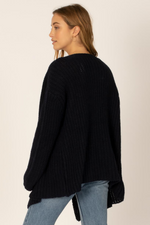Sisstrevolution - Got Me Twisted Knit Sweater - Midnight