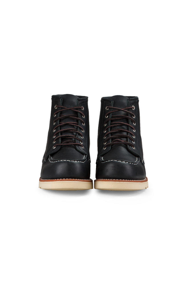 Red Wing Heritage - 6 Inch Moc Toe - Black - Front