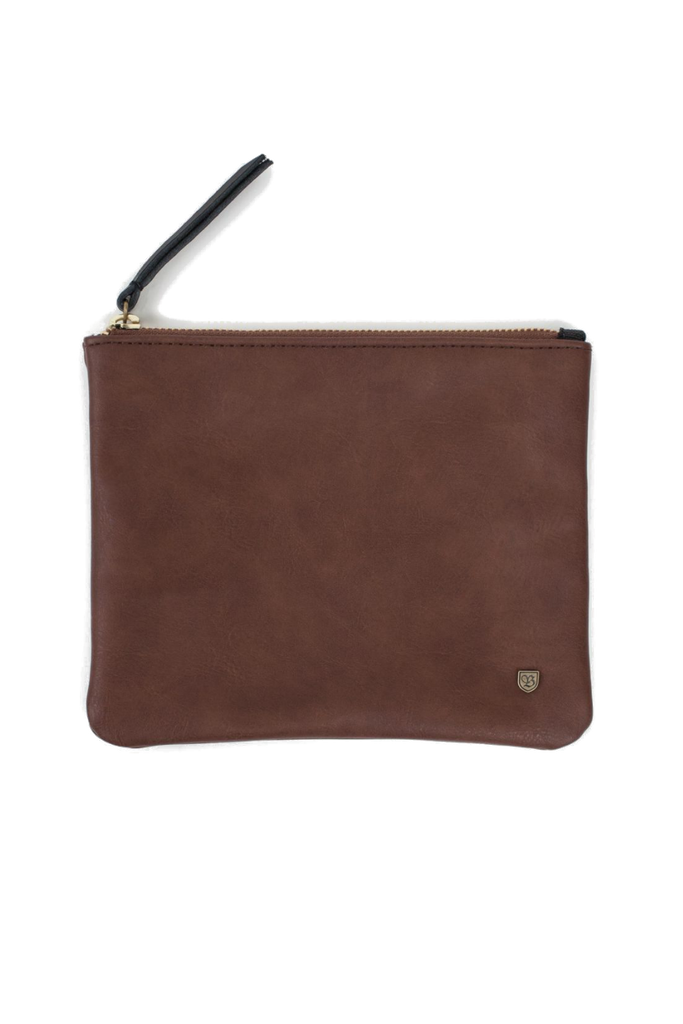 Brixton - Jill Clutch - Brown