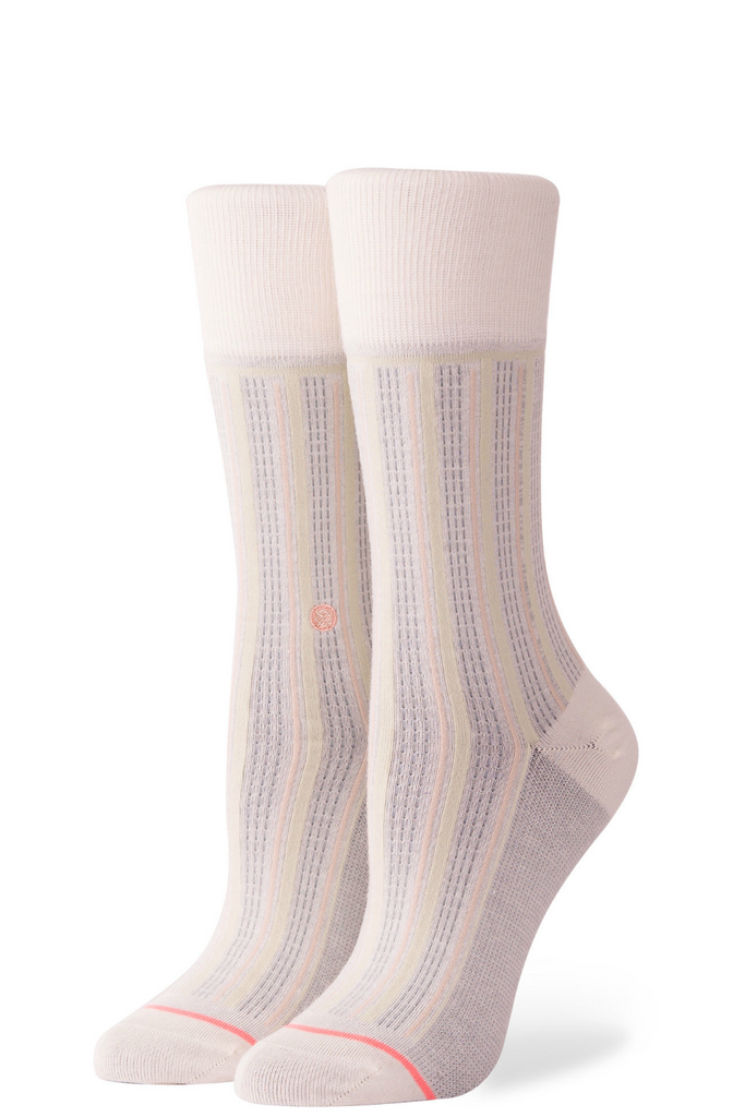 Stance - Stripe Down - Cream