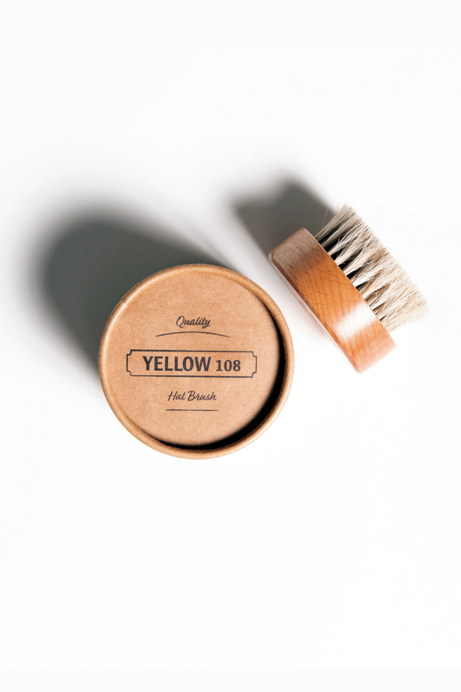 Yellow 108 - Hat Brush - Light