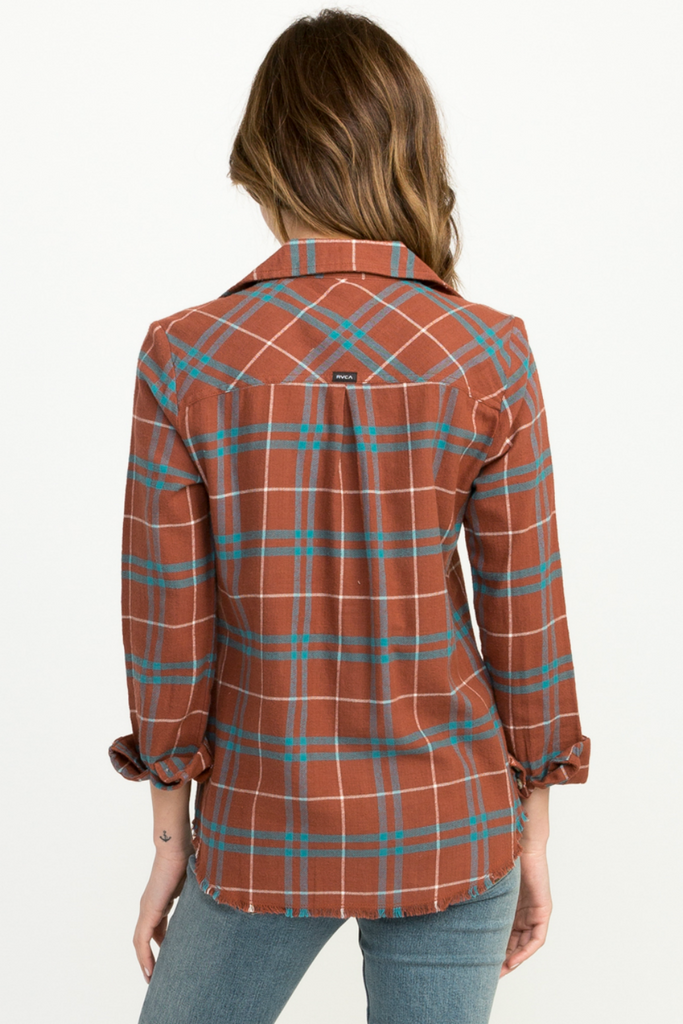 RVCA - In A Haze - Henna - Back