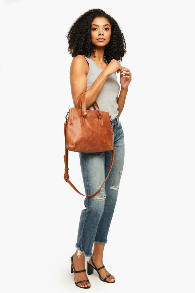 Able - Rachel Crossbody - Whiskey - Model