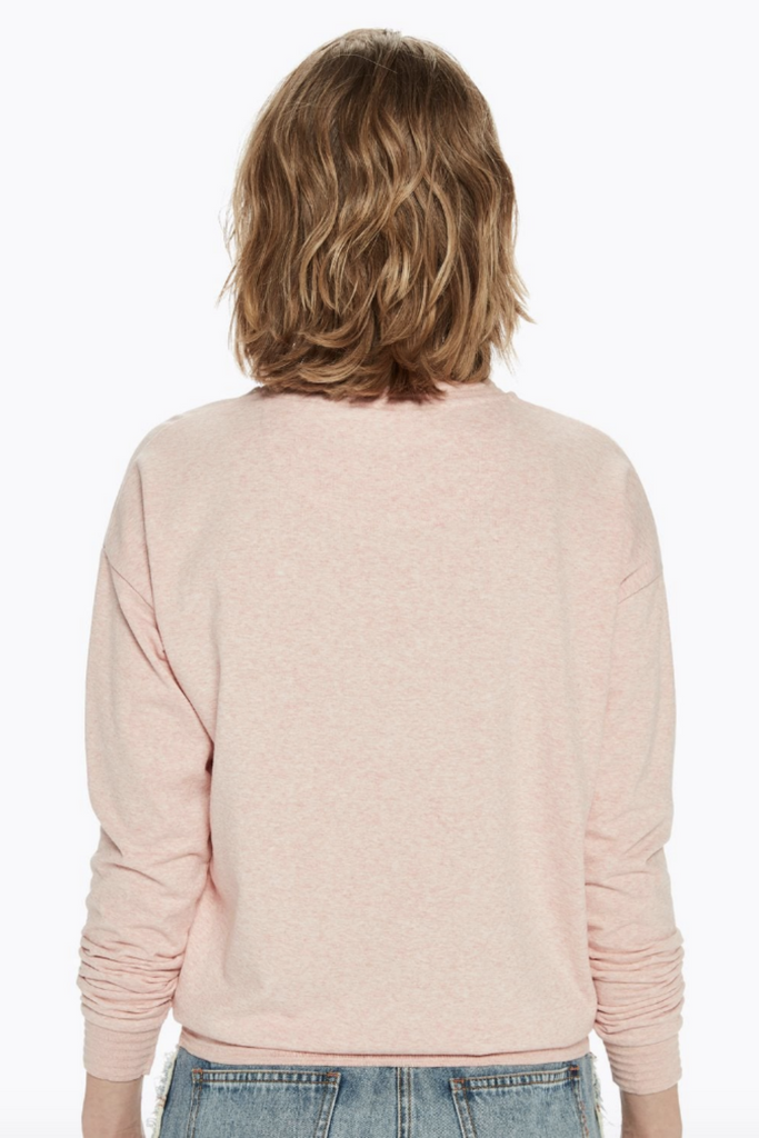 Scotch and Soda - Basic Light Sweater - Light Pink - Back
