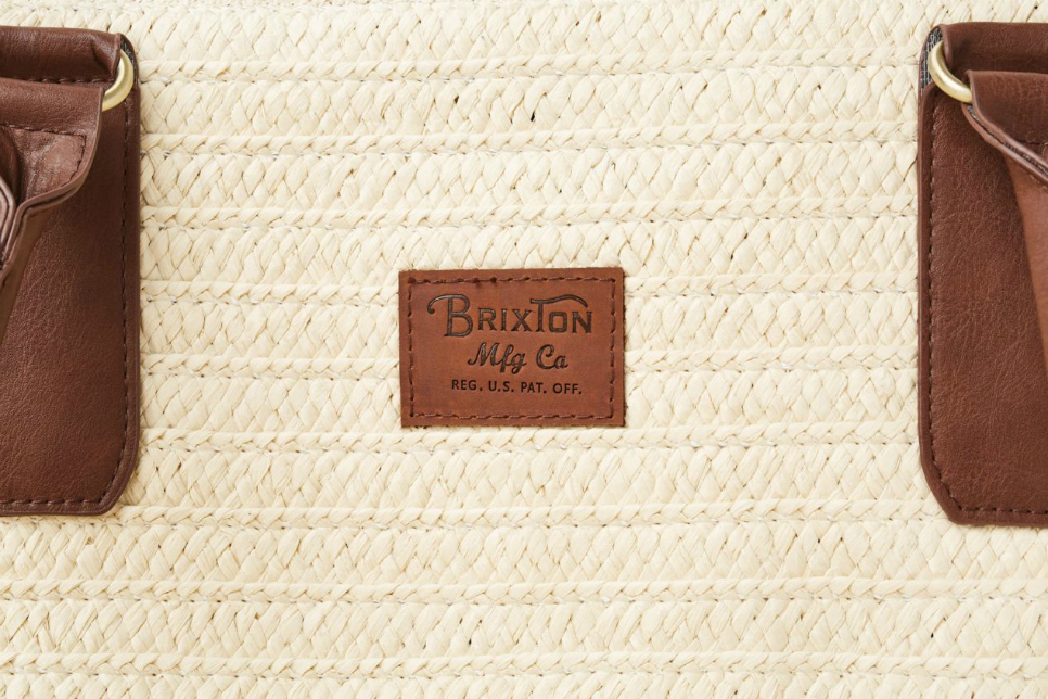 Brixton - Bismarck Bag - Natural - Front Detail
