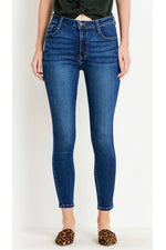 Letters to Juliet - Verona Basic 5 Pocket Skinny - Dark - Front