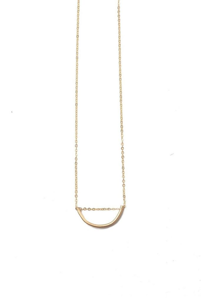 Able - Arch Necklace - Gold