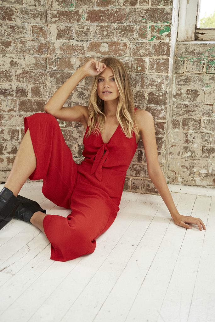 Somedays Lovin - For the Night Jumpsuit - Red