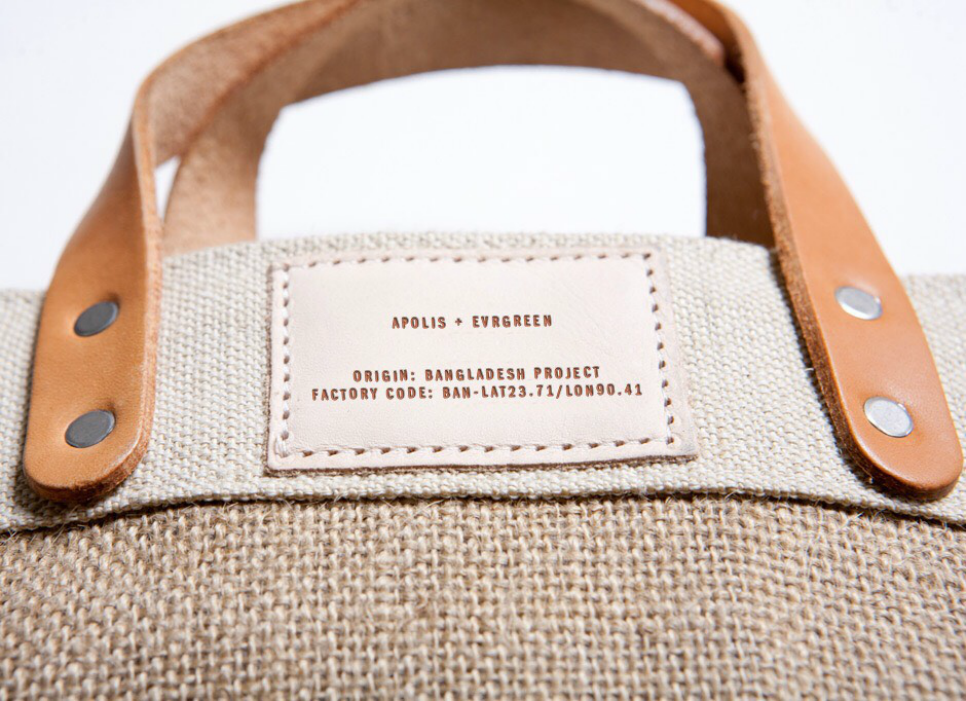 Apolis - Bozeman Market Bag - Detail