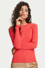 Scotch & Soda - Cashmere Blend Pullover - Watermelon - Back