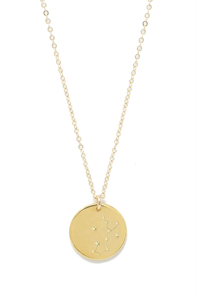 Able - Scorpio Constellation Necklace - Gold