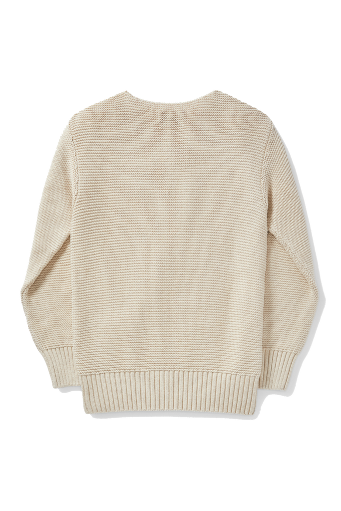 Filson - Lake Quinault Crewneck Sweater - Natural Heather - Back