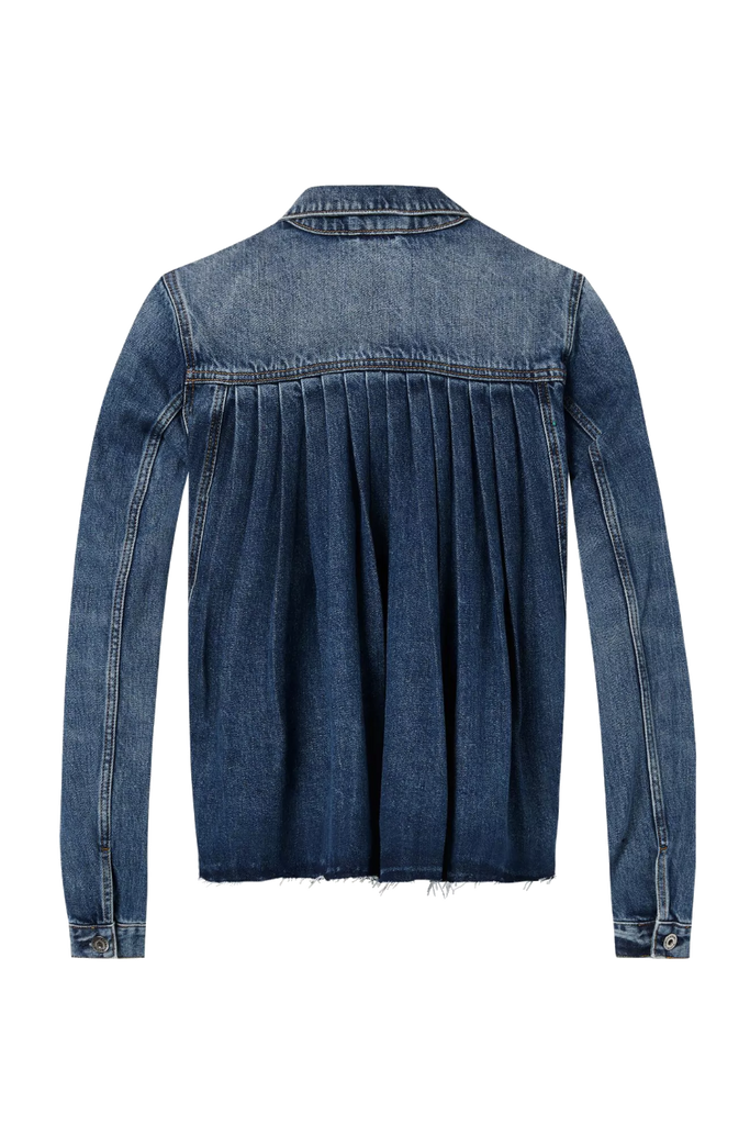 Scotch and Soda - Denim Trucker Jacket - Indigo - Back