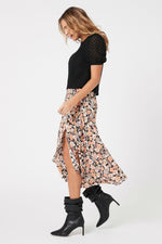 MinkPink - Love Charm Midi Skirt - Multi