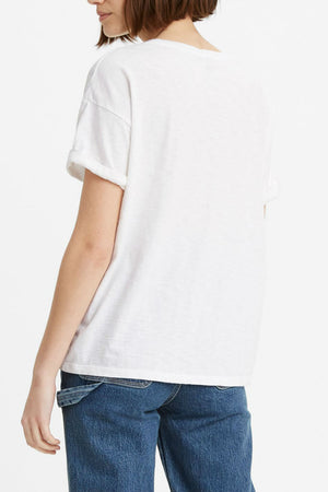 Levis - Graphic Good Times Tee - Levis White - Back