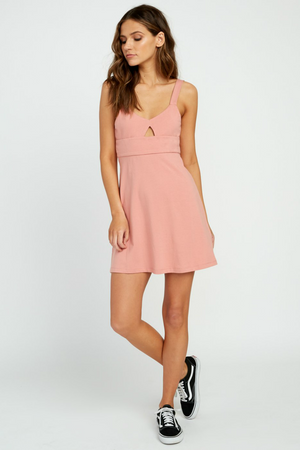 RVCA - All Talk Dress - Coco