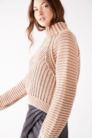 Free People - Sweetheart Sweater - Sand Castle - Side