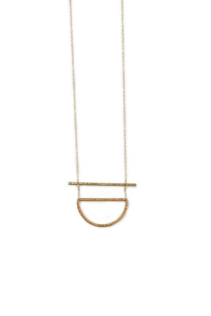Able - Manifesto Necklace - Brass