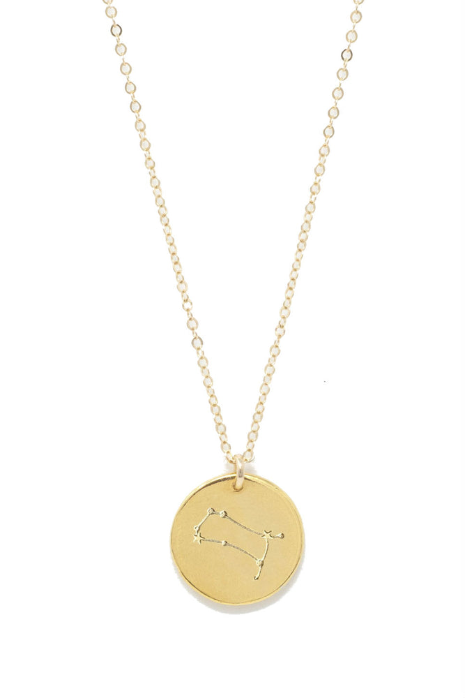 Able - Gemini Constellation Necklace - Gold