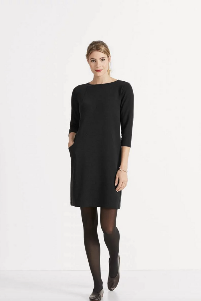 ELEMENTERRY BOATNECK DRESS