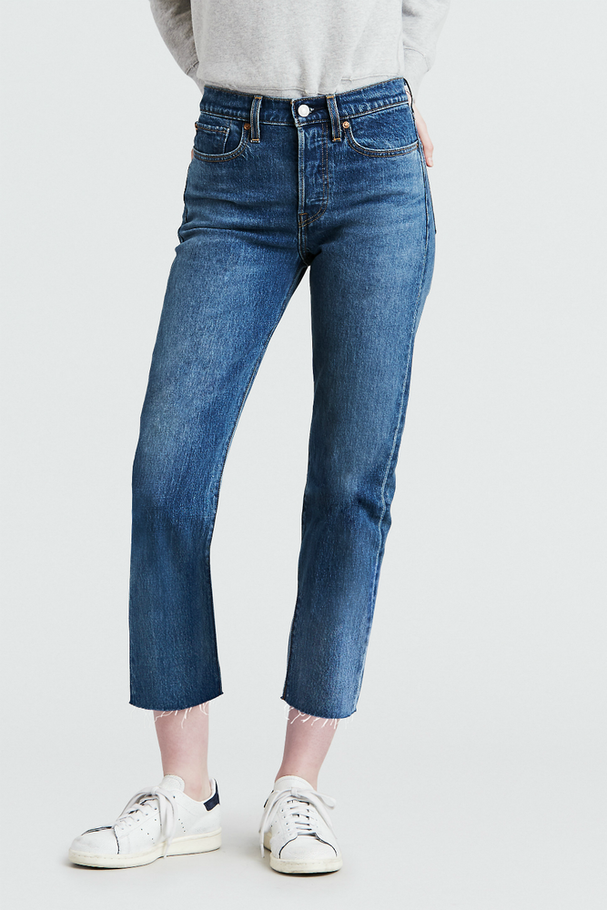 Levis - Wedgie Straight - Love Triangle - Front