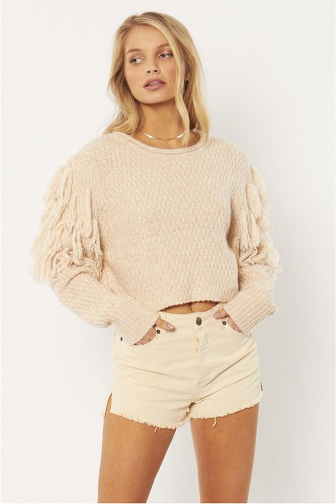 ROCHA LS KNIT SWEATER