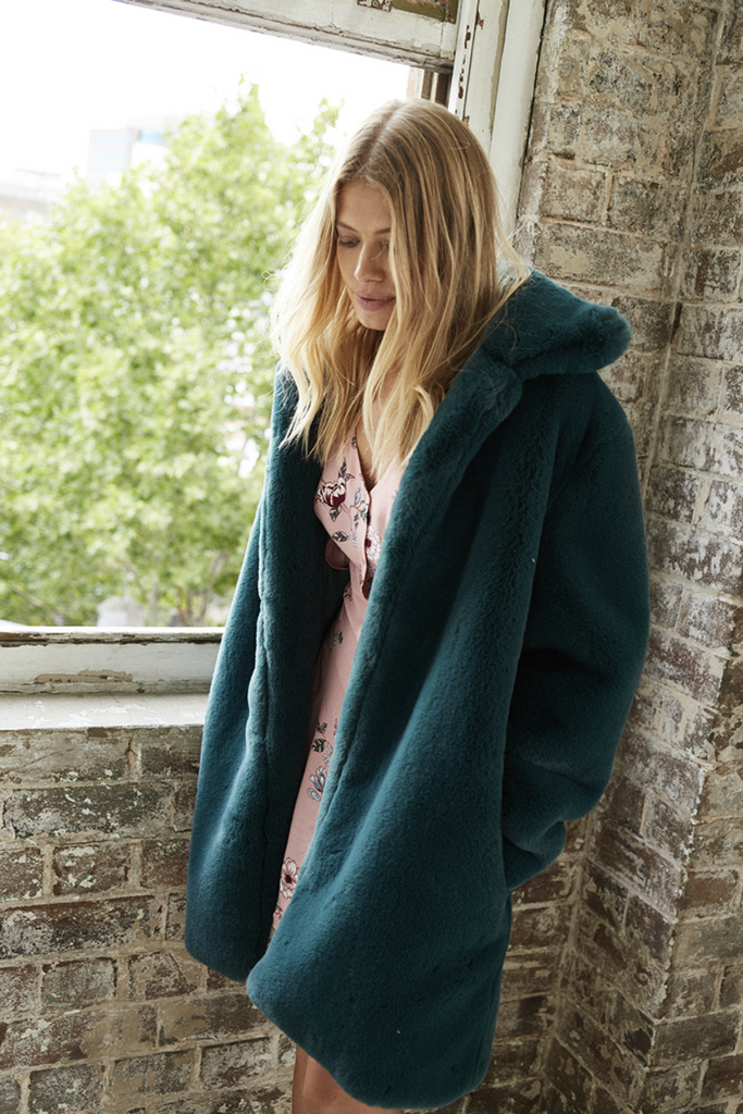 Somedays Lovin - Emerald Dreaming Coat - Emerald