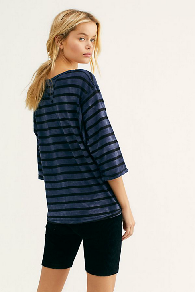 Free People - Head in the Clouds - Navy - Back