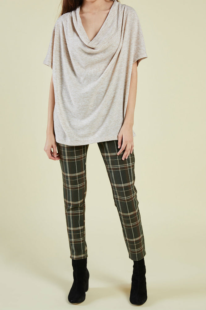 Sage the Label - Verona SS Top - Oatmeal